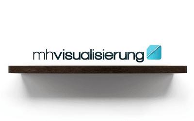 Logo mh-visualisierung | Agentur für 3D-Visualisierung