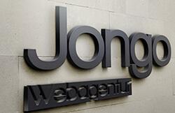 Außenwerbung der JONGO Webagentur