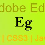 Sdobe Edge für HTML5, CSS3 und JavaScript
