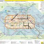 Streckenplan von Berlin