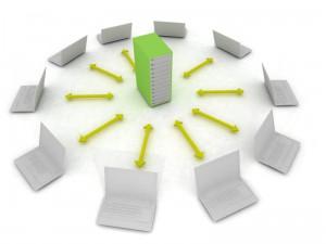 Datenbank im Netzwerk