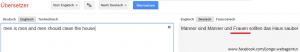 Google Easteregg - Google Translate