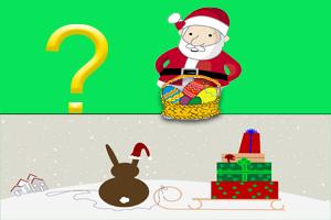 Osterhase und Weihnachtsmann