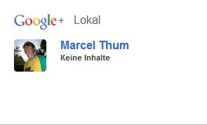 Screenshot - Private Google+ Bewertung