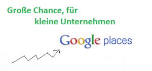 Google Places für kleine Unternehmen