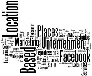 Keyword Cloud zum Thema Lokales Online Marketing