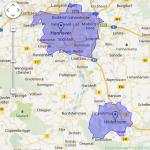 Screenshot Adwords Keyword-Planer: Hinzufügen oder Entfernen weitere Städte und Regionen für die Keywordanalyse